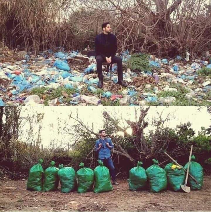 The Viral Game '#Trashtag Challenge' has Encouraged People to Pick up Litter in the Parks and Beaches.